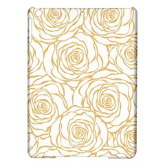 Yellow Peonies Ipad Air Hardshell Cases by 8fugoso