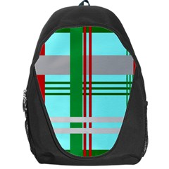 Christmas Plaid Backgrounds Plaid Backpack Bag by Celenk