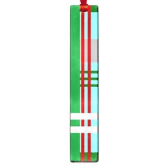 Christmas Plaid Backgrounds Plaid Large Book Marks by Celenk