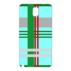 Christmas Plaid Backgrounds Plaid Samsung Galaxy Note 3 N9005 Hardshell Back Case by Celenk