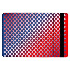 Dots Red White Blue Gradient Ipad Air Flip by Celenk