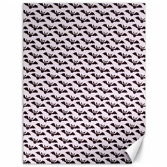 Halloween Lilac Paper Pattern Canvas 36  X 48   by Celenk