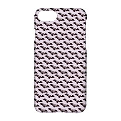 Halloween Lilac Paper Pattern Apple Iphone 8 Hardshell Case by Celenk