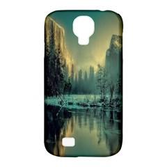 Yosemite Park Landscape Sunrise Samsung Galaxy S4 Classic Hardshell Case (pc+silicone) by Celenk
