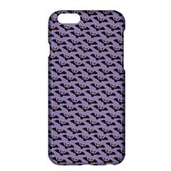 Bat Halloween Lilac Paper Pattern Apple Iphone 6 Plus/6s Plus Hardshell Case by Celenk