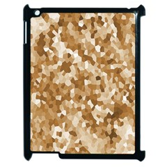 Texture Background Backdrop Brown Apple Ipad 2 Case (black) by Celenk