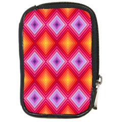 Texture Surface Orange Pink Compact Camera Cases by Celenk