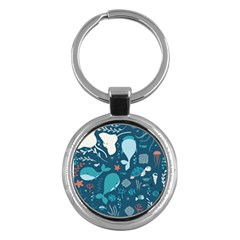 Cool Sea Life Pattern Key Chains (round)  by allthingseveryday