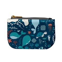 Cool Sea Life Pattern Mini Coin Purses by allthingseveryday