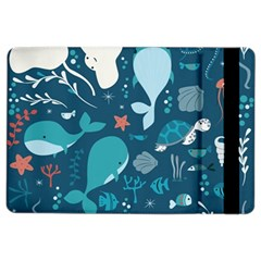 Cool Sea Life Pattern Ipad Air 2 Flip by allthingseveryday