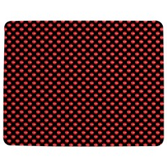Sexy Red And Black Polka Dot Jigsaw Puzzle Photo Stand (rectangular) by PodArtist