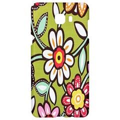 Flowers Fabrics Floral Design Samsung C9 Pro Hardshell Case  by Celenk