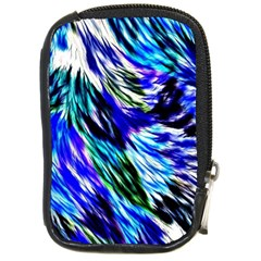 Abstract Background Blue White Compact Camera Cases by Celenk
