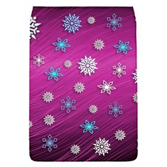 Snowflakes 3d Random Overlay Flap Covers (s)  by Celenk