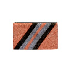 Fabric Textile Texture Surface Cosmetic Bag (small)  by Celenk