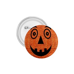 Fabric Halloween Pumpkin Funny 1 75  Buttons by Celenk