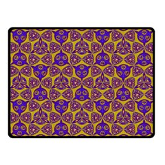 Sacred Geometry Hand Drawing 2 Fleece Blanket (small) by Cveti