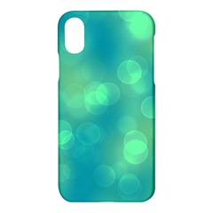 Soft Lights Bokeh 1b Apple Iphone X Hardshell Case by MoreColorsinLife