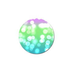 Soft Lights Bokeh 2 Golf Ball Marker (10 Pack) by MoreColorsinLife