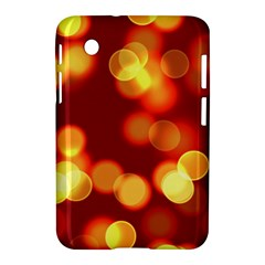 Soft Lights Bokeh 4 Samsung Galaxy Tab 2 (7 ) P3100 Hardshell Case  by MoreColorsinLife