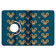 Cartoon Animals In Gold And Silver Gift Decorations Kindle Fire Hdx Flip 360 Case by pepitasart