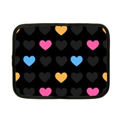 Emo Heart Pattern Netbook Case (small)  by allthingseveryday