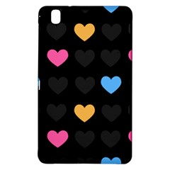 Emo Heart Pattern Samsung Galaxy Tab Pro 8 4 Hardshell Case by allthingseveryday