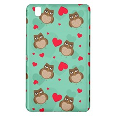 Owl Valentine s Day Pattern Samsung Galaxy Tab Pro 8 4 Hardshell Case by allthingseveryday