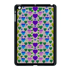 Love In Eternity Is Sweet As Candy Pop Art Apple Ipad Mini Case (black) by pepitasart