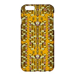 Rain Showers In The Rain Forest Of Bloom And Decorative Liana Apple Iphone 6 Plus/6s Plus Hardshell Case by pepitasart