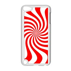 Peppermint Candy Apple Ipod Touch 5 Case (white) by jumpercat