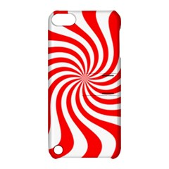 Peppermint Candy Apple Ipod Touch 5 Hardshell Case With Stand by jumpercat