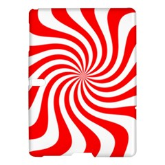 Peppermint Candy Samsung Galaxy Tab S (10 5 ) Hardshell Case  by jumpercat