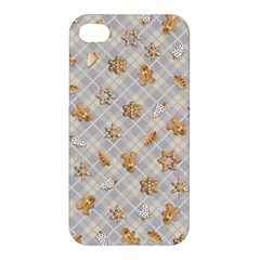Gingerbread Light Apple Iphone 4/4s Hardshell Case by jumpercat
