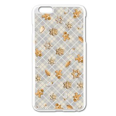 Gingerbread Light Apple Iphone 6 Plus/6s Plus Enamel White Case by jumpercat