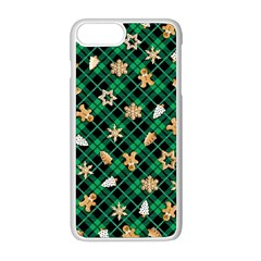 Gingerbread Green Apple Iphone 8 Plus Seamless Case (white) by jumpercat