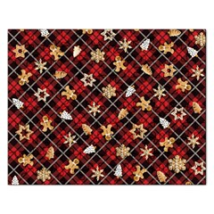 Gingerbread Red Rectangular Jigsaw Puzzl by jumpercat