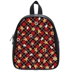 Gingerbread Red School Bag (small) by jumpercat