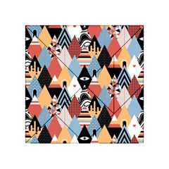 Abstract Diamond Pattern Acrylic Tangram Puzzle (4  X 4 ) by allthingseveryday