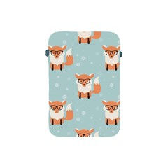 Cute Fox Pattern Apple Ipad Mini Protective Soft Cases by allthingseveryday