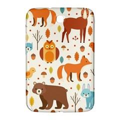 Woodland Friends Pattern Samsung Galaxy Note 8 0 N5100 Hardshell Case