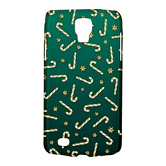 Golden Candycane Green Galaxy S4 Active by jumpercat