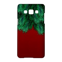 Xmas Tree Samsung Galaxy A5 Hardshell Case  by jumpercat