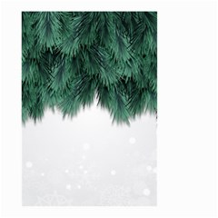 Snow And Tree Small Garden Flag (two Sides) by jumpercat