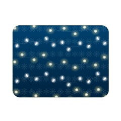 Christmas Light Blue Double Sided Flano Blanket (mini)  by jumpercat