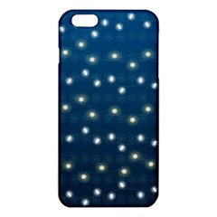Christmas Light Blue Iphone 6 Plus/6s Plus Tpu Case by jumpercat