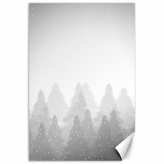Winter Land Light Canvas 24  X 36  by jumpercat