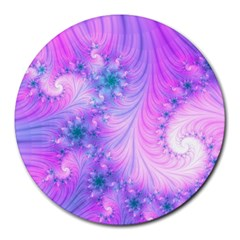Delicate Round Mousepads by Delasel