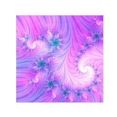 Delicate Small Satin Scarf (square) by Delasel
