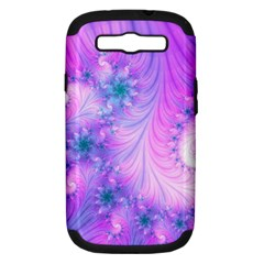 Delicate Samsung Galaxy S Iii Hardshell Case (pc+silicone) by Delasel
